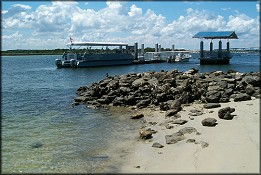 Matanzas River At The National Park Service Dock