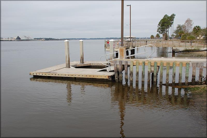Arlington lions club boat ramp floating docks fishing pier for St augustine fishing pier